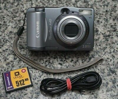 CANON POWERSHOT A40 WIA DRIVERS FOR WINDOWS XP