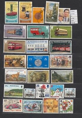 Stamps Lot British Colonies & Territories Used (L22910)