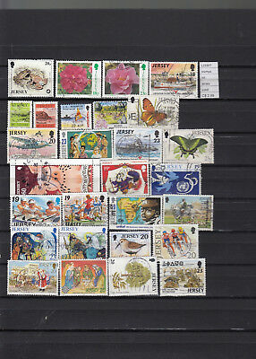 Stamps Lot British Colonies & Territories Jersey Used (L23307)