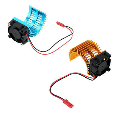 RC Car Parts Heat Sink w/ Fan Cooling for 1/10 RC Car 36mm 540 550 Motor