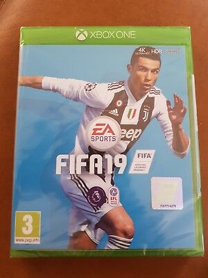 EA Sports FIFA 19 - Standard Edition (Xbox One 2018) still ceal package
