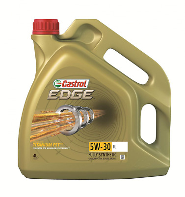 Castrol 15668E EDGE 5W-30 LL Engine Oil choose 1l 4l 5l Gold