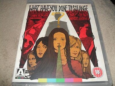 What Have You Done To Solange (1972) NEW Arrow 2-Disc Region Free Blu-ray