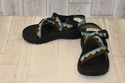 2a329d4af7e Chaco Z 1 NPF Yosemite Sandals - Men s Size 8 - Olive Blue DAMAGED