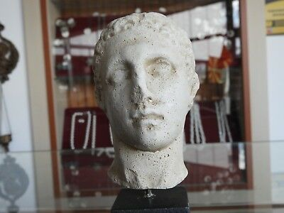 Head of young man part of sculpture IV - III century BC.