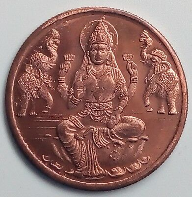 Blessing Maa Laxmi Rare Year *1818* East India Company One Anna Pooja Coin