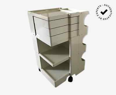 Storage trolley Boby 3 by Joe Colombo for Bieffeplast 1968 - White plastic