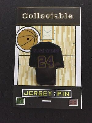 7c6d2929e32 Los Angeles Lakers Kobe Bryant jersey lapel pin-Mamba Collectible-#1 Best  Seller