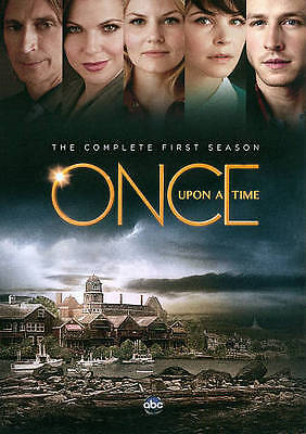 NEW! Once Upon a Time: The Complete First Season (DVD, 2012, 5-Disc Set)