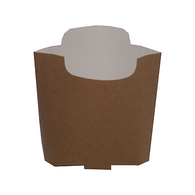 Disposable Takeaway Cardboard Chip Scoop Boxes Fast Food Packaging