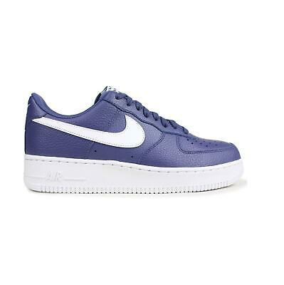 low priced 9bc9a b42c4 Mens NIKE AIR FORCE 1 07 Blue Trainers AA4083 401