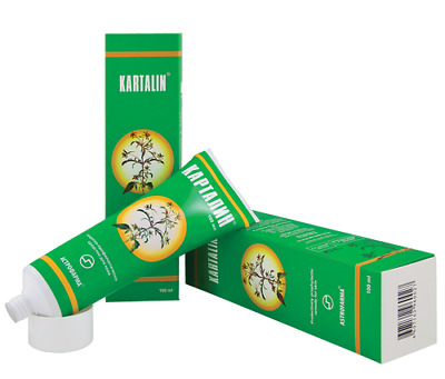 100% Natural Genuine Kartalin Ointment for Severe Plaque Psoriasis