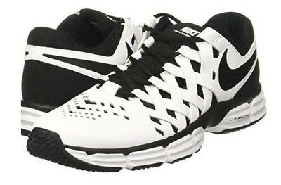 1b9ce66850df5 NIKE FREE TRAINER 5.0 Livestrong Fingertrap White Black Mens Shoes ...