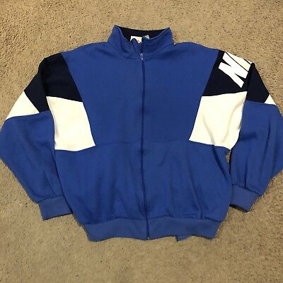 191a3428cca1 VTG 90S NIKE Color-Block Windbreaker Jacket XL Full Zip lined Nylon ...