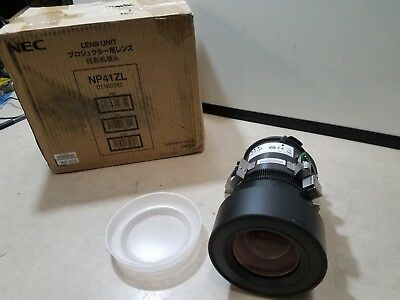 NEC Display NP41ZL - Zoom Lens New Open box , never installed 01160382