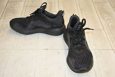 Adidas AlphaBounce Running Shoes - Unisex Big Kid's Size 4.5 - Black