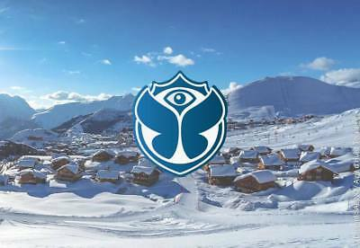 1-3x Tomorrowland Winter Festival 2019 Tickets incl Unterkunft/Lodging & SkiPass