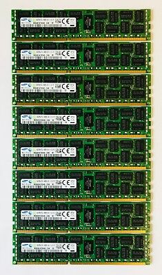 64GB (8x8GB) DDR3 PC3-10600R ECC Reg Server Memory RAM Dell PowerEdge R720