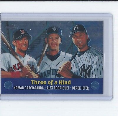 2000 (MARINERS) Topps Limited Combos Baseball Card #TC5 Three of a Kind