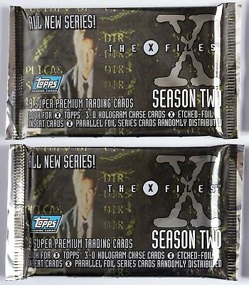 TRADING CARDS/CARTES A COLLECTIONNER X-FILES SEASON TWO - x2 BOOSTERS SEALED