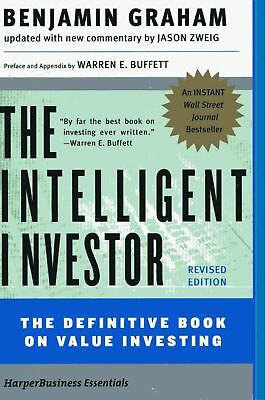THE INTELLIGENT INVESTOR BY BENJAMIN GRAHAM E- Book PDF