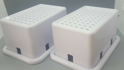 2 X  Safety Electric Child Baby Proof Power Outlet COVER , Wall Socket, Plugs