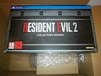 Resident Evil 2 Collector's Edition Playstation 4 ITALIANO NUOVO SIGILLATO