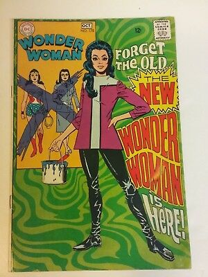 Wonder Woman #178 Vg/fn 1St New Costume (Great Deal)