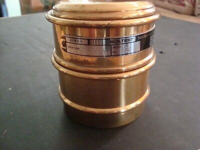 Soiltest Inc. Astm E-11 Stainless No. 10 Mesh Test Sieve 2.00 Mm Made In England