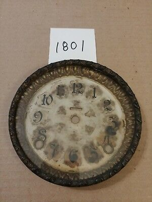 Ingraham Mantle Clock Dial And Bezel With Glass