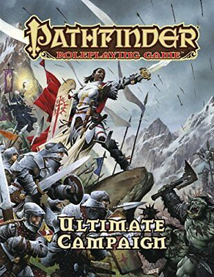 NEW - Pathfinder Roleplaying Game: Ultimate Campaign by Bulmahn, Jason