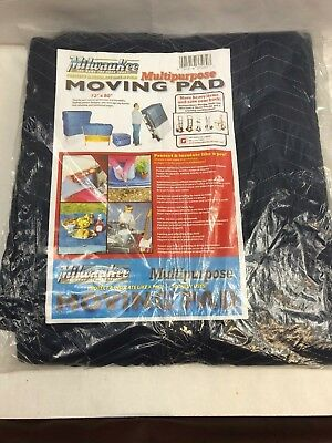 Milwaukee Multipurpose Moving Blanket Pad HOTT DEALS - 72 x 80 - LOT OF 2