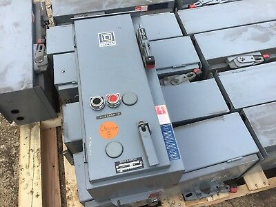 Square D SCA 13 30 Amp Size 1 Starter Fused Disconnect Box