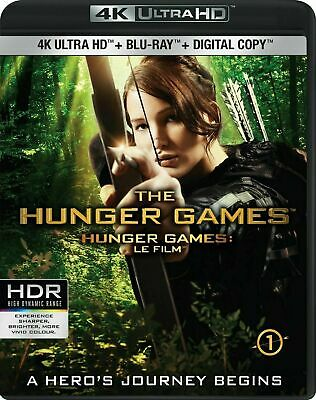 The Hunger Games [4K+Blu-ray] New and Factory Sealed!!