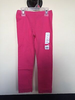 JUMPING BEANS baby girl leggings size 5 pink cat -  3.99  f34017bcb