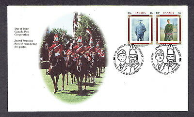 Canada FDC - 2000 - Canadian Regiments, Voltigeurs/Strathcona's, Scott # 1877a