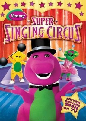 Barney: Super Singing Circus (DVD) BRAND NEW! *FREE SHIPPING!