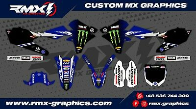YAMAHA YZF 250/450 2014 - 2018 Graphics Decals Stickers Dekor Rival Designs