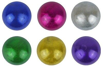 Metallic Galaxy Squishy Squeeze Balls Stress Relief Kid Party Bag Filler Toy