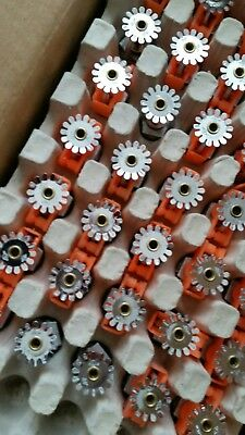 100 Tyco Fire Sprinkler Heads TY323 Chrome Pendent 3mm mixed 2015, 2014, 2013