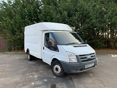Ford Transit 2.4 TDCI Chassis Cab BT BOX VAN Luton Recovery Truck Camper Flatbed