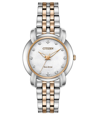 Citizen Eco-Drive Jolie Women's Diamond Accents 30mm Watch EM0716-58A
