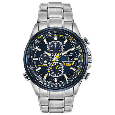 Citizen Eco-Drive Men's Blue Angels A-T Chronograph 43mm Watch AT8020-54L