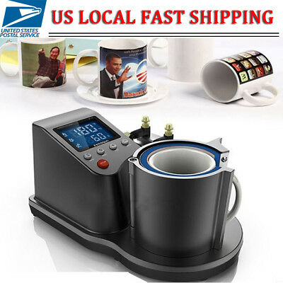 Automatic Pneumatic Mug Heat Press Machine Cup Heat Transfer Sublimation Machine