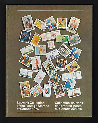 1976 Souvenir Annual Collection of the Postage Stamps of Canada Unitrade #19 MNH
