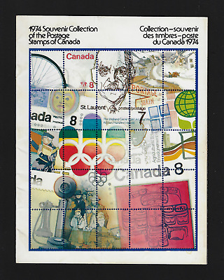 1974 Souvenir Annual Collection of the Postage Stamps of Canada Unitrade #17 MH