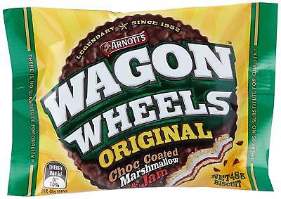 Arnotts Wagon Wheels Original 16x48g Multipack