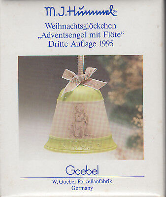 Goebl M.j. Hummel Christmas Bell Third Edition 1995 New In Box Old Store Stock