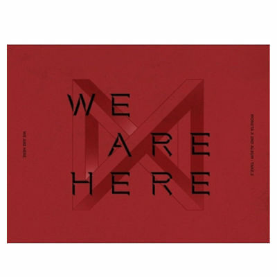 MONSTA X [TAKE.2 WE ARE THERE] 2nd Album: FULL PACKAGE+P.BENEFIT+TRACKING+POSTER