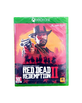 Red Dead Redemption 2 XBOX ONE 1 2018 Asia English Chinese Factory Sealed